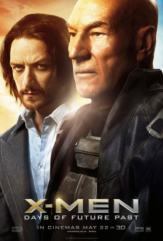 X-Men: Days Of Future Past Character Posters Show Storm ... X Men Days Of Future Past Professor X