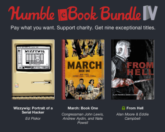 From Hell, March And Wizzywig Included In Humble eBook Bundle IV