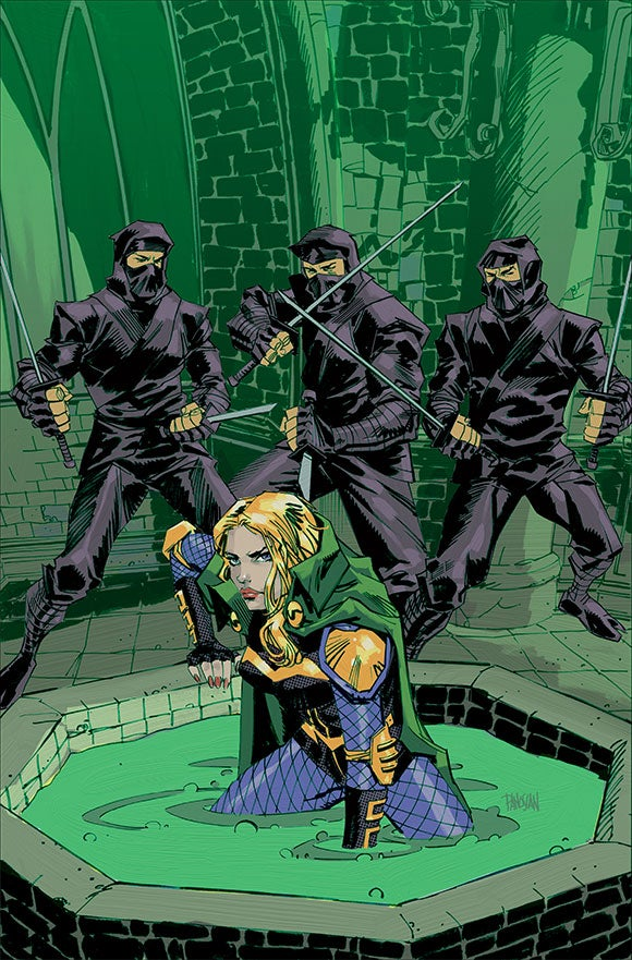 Green Canary DC Comics's Futures En...