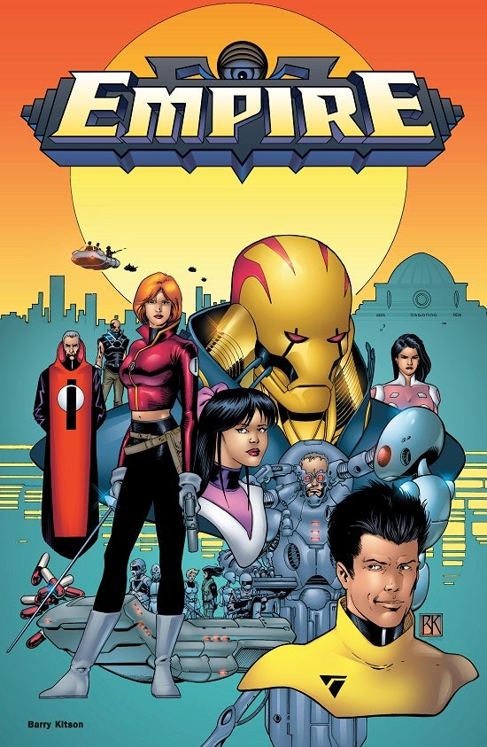 Mark Waid and Barry Kitson's Empire Volume 2 Launching Next Week From Thrillbent