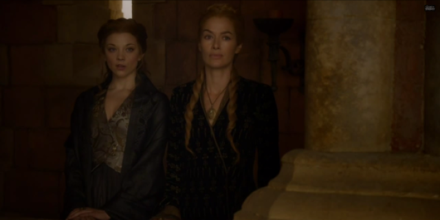 game of thrones margaery and cersei