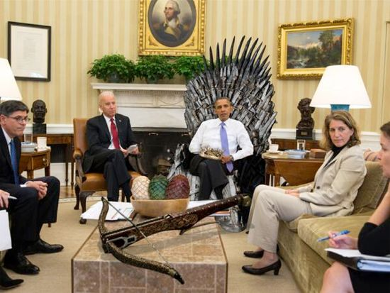 Game Of Thrones President Obama