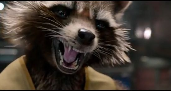 Guardians of the Galaxy Trailer Rocket Raccoon