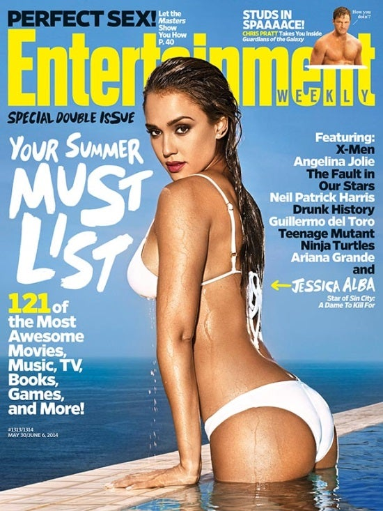 Frank Miller's Sin City: A Dame to Kill For's Jessica Alba Featured On New EW Cover