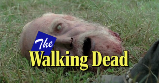 The Walking Dead - 80's style