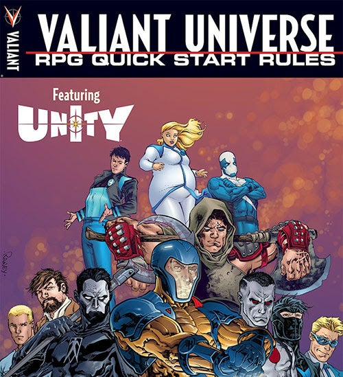 Valiant Free Comic Book Day: Valiant Universe RPG Gets Digital-First Supplements