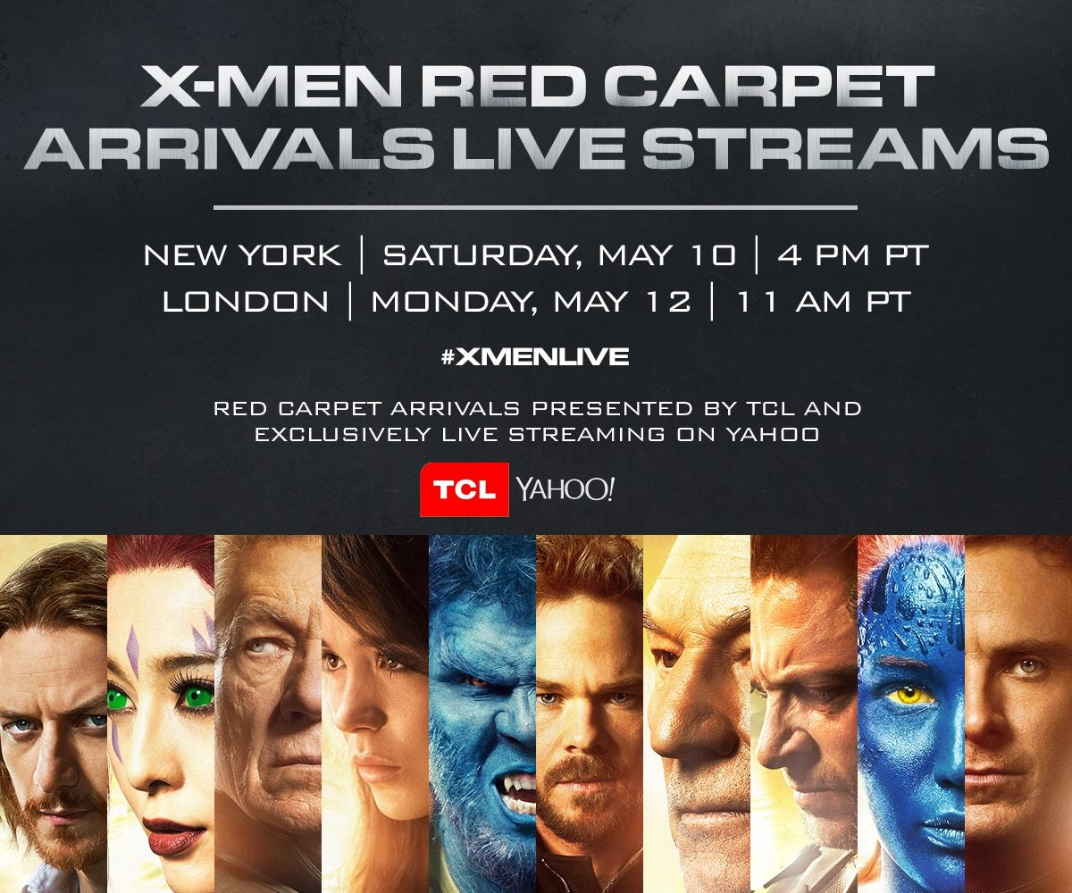 x men days of future past livestream the world premiere tonight