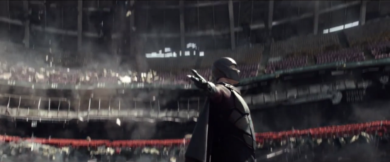 X-Men: Days of Future Past - Magneto Levitates a Stadium