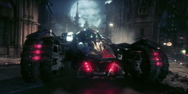 batman arkham knight batmobile battle mode