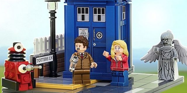 LEGO To Produce Doctor Who Sets And Minifigures