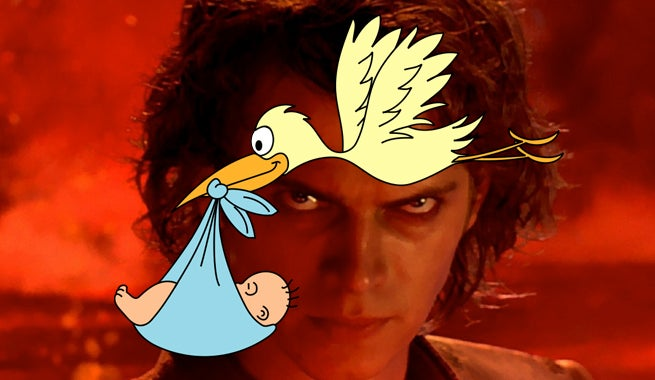Star Wars: Anakin Is One Of The Top 1,000 Baby Names In The U.S.