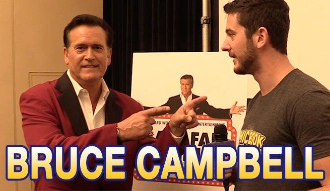 Bruce Campbell Talks Last Fan Standing, Reveals Ash Vs. Evil Dead Scoop