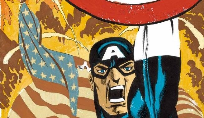 Captain America White 1 Cover