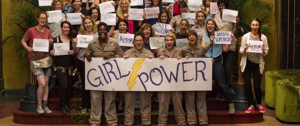 Ghostbusters Cast Celebrates Girl Power