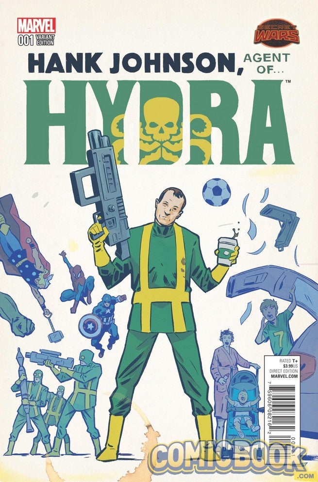 EXCLUSIVE Marvel Preview: Hank Johnson, Agent Of Hydra #1