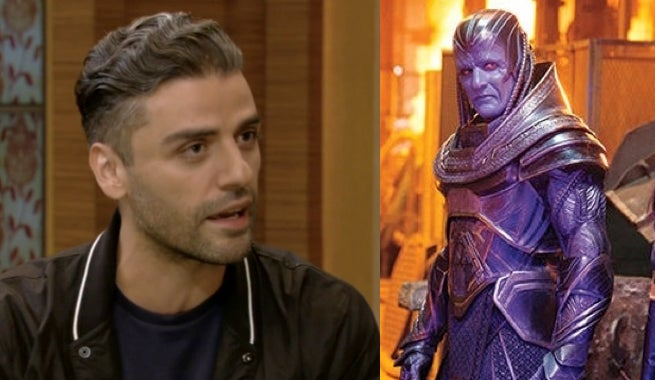 Oscar Isaac Says He Only Has A Few Days Of X-Men: Apocalypse Filming Left