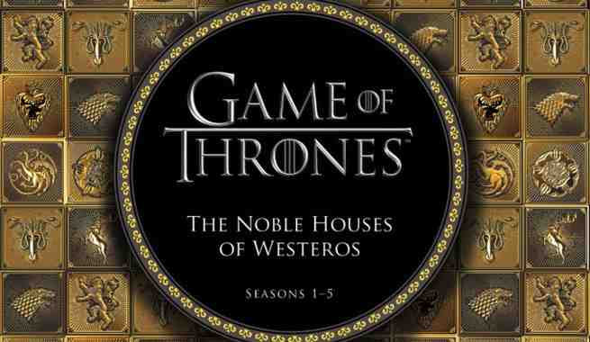 the noble houses of westeros