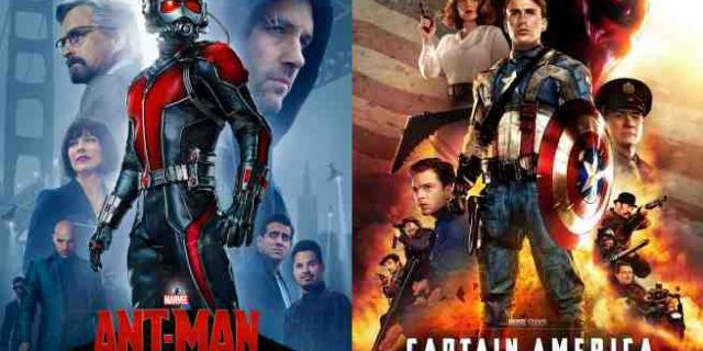 Ant-Man Captain America The First Avengers