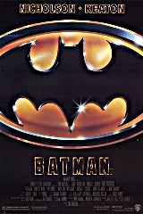 Batman (1989) movie poster image