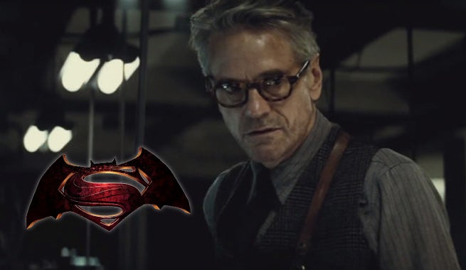 Jeremy Irons Says Batman V. Superman Will Have A Completely Different Alfred
