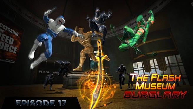 DCUO ep17 Flash MuseumBurglary