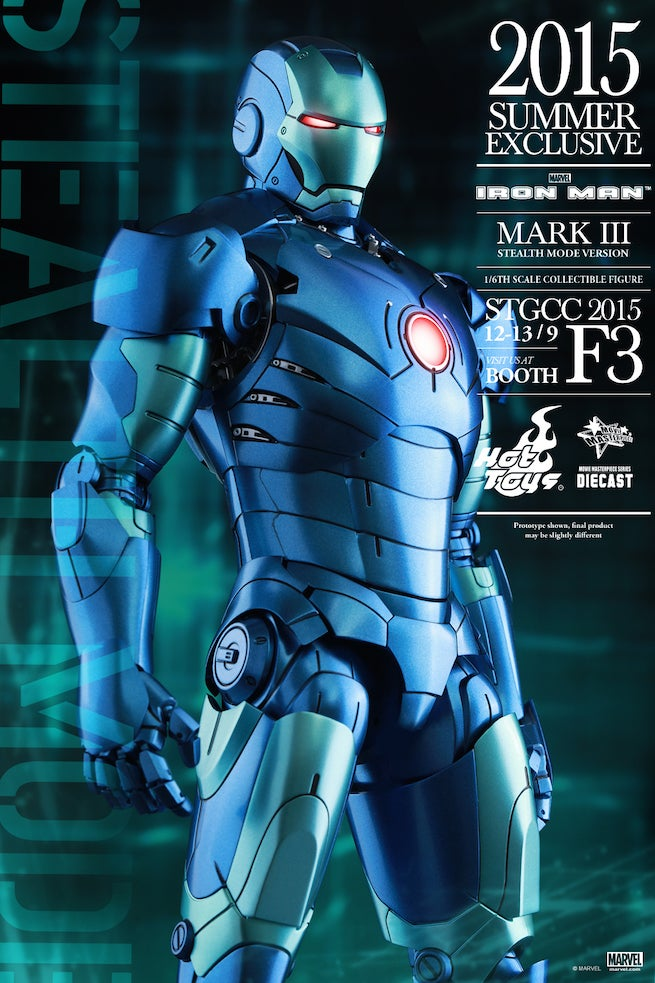 Iron Man Mark III Stealth Mode Version Figure Revealed By