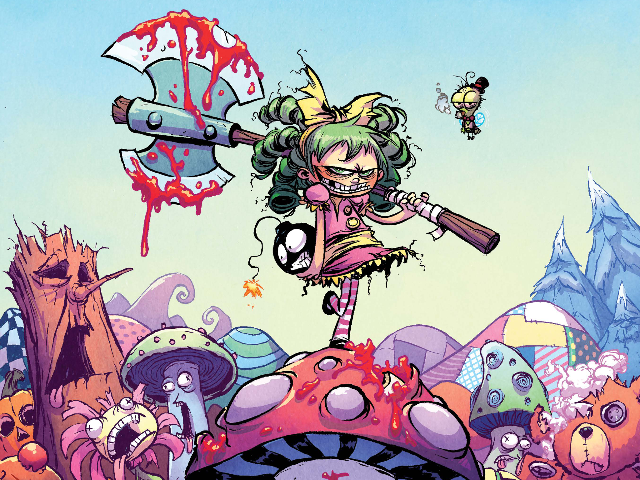 I Hate Fairyland #1 - Cover