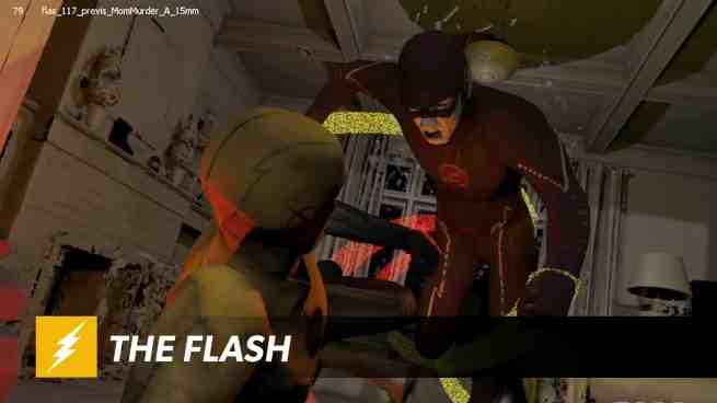 the flash vfx