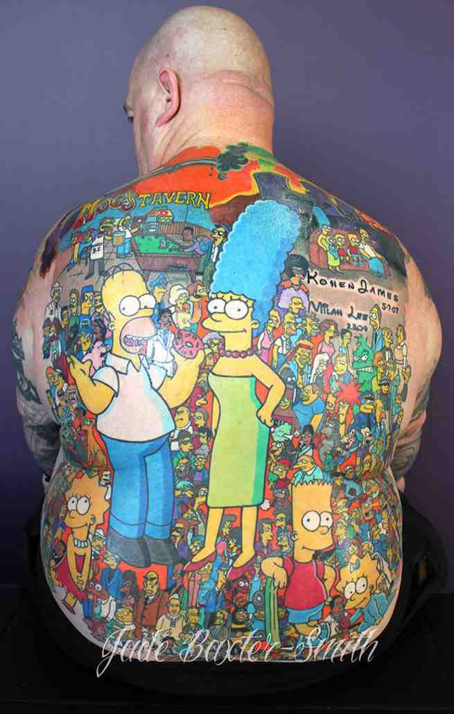 Most-tattoos-of-characters-from-a-single-animated-series-Michael-Baxter-guinness-world-records-finished-view tcm25-396425