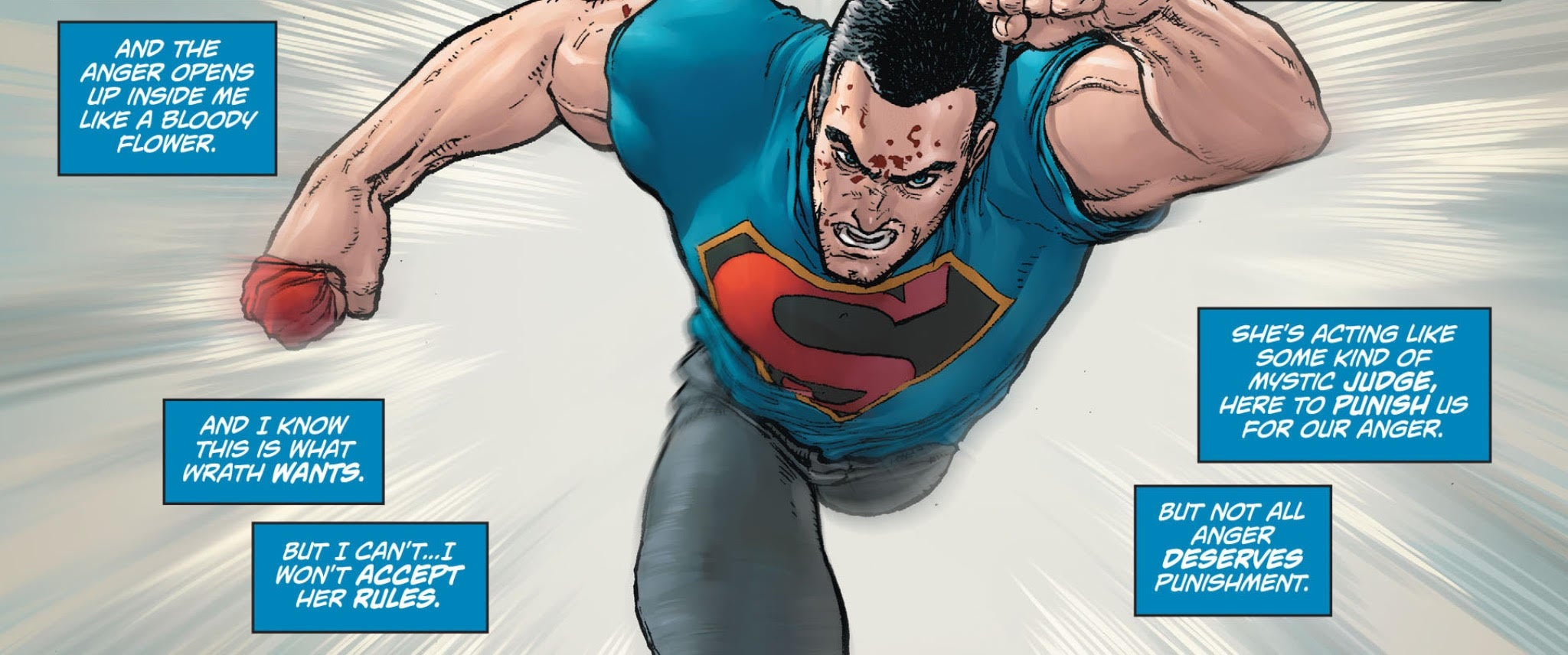 Action Comics - Anger