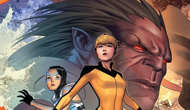 All-New Inhumans 1 Cheung Connecting Variant