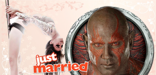 Guardians Of The Galaxy's Dave Bautista Gets Married