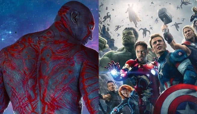 Dave Bautista Praying for Avengers and Guardians of the Galaxy Crossover