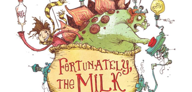 Johnny Depp & Edgar Wright Teaming Up For Neil Gaiman's Fortunately, The Milk