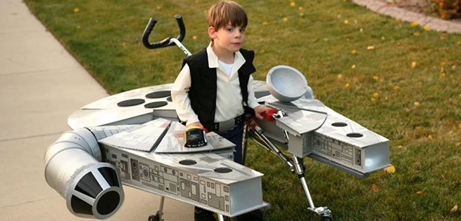 5 Year Old With Cerebral Palsy Gets Han Solo And Millennium Falcon
