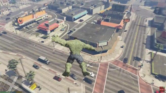 Hulk-GTAV-mod