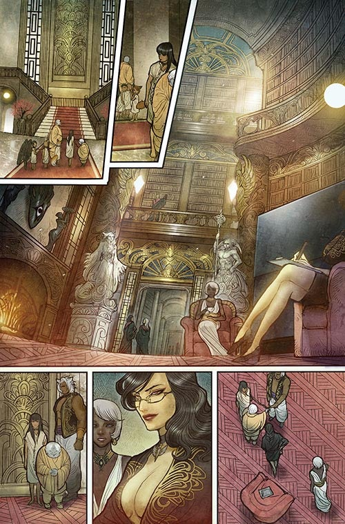 Monstress #1 - Page Four