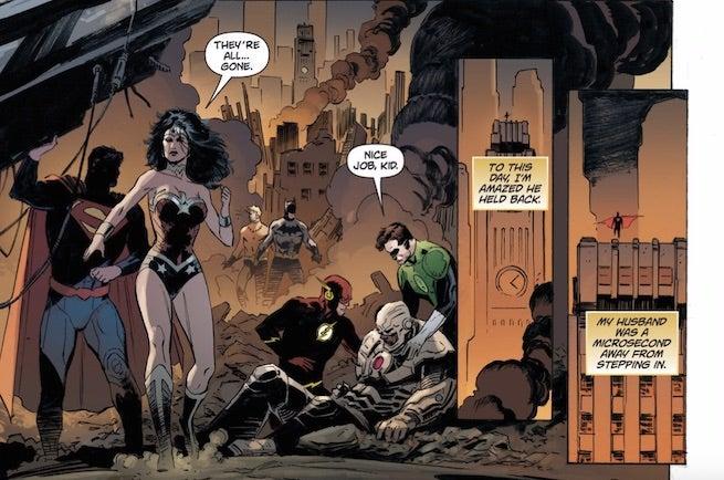 justice league origin Superman