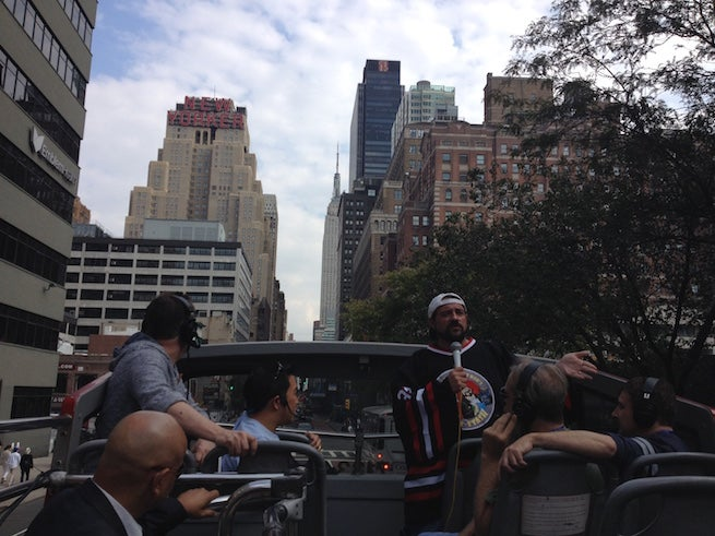 Kevin Smith bus ride
