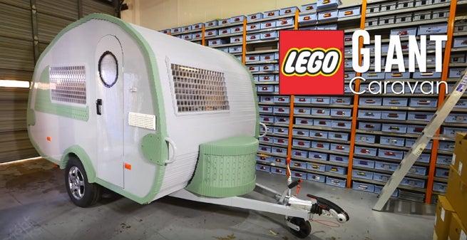 LEGO mobile home.