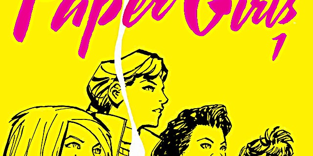 Paper Girls #1 - Cover