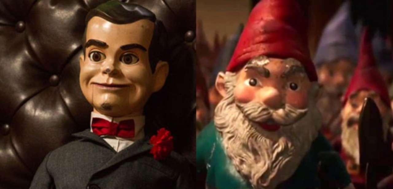 2 New Goosebumps Clips With Slappy & Some Angry Lawn Gnomes