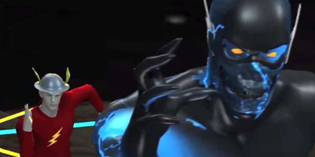 the flash new look at zoom in the fury of firestorm vfx featurette