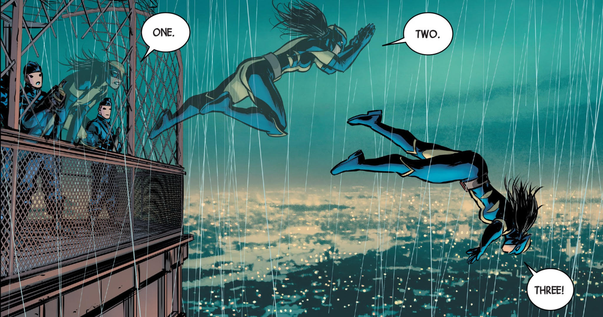 All-New Wolverine #1 - Eiffel Tower