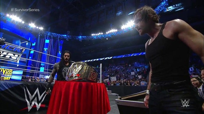 Ambrose and Reigns