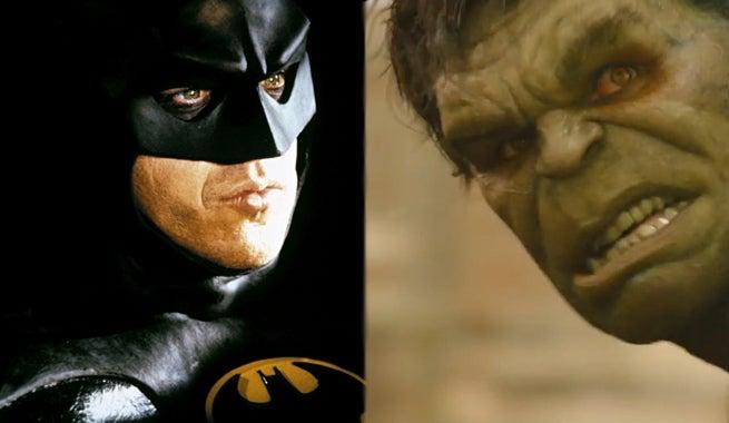 Michael Keaton Says Batman Can Beat Anyone, Even The Hulk, In A Fight
