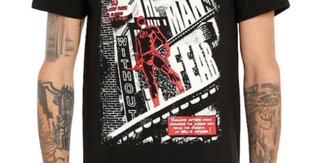 Daredevil T-shirt_Hot Topic