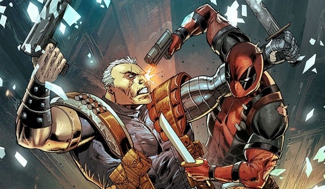 Deadpool and Cable Split Second 1 Liefeld Variant