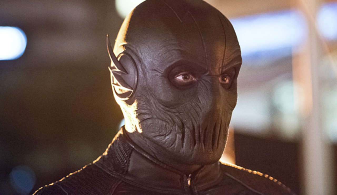 The Flash Grant Gustin Comments On If Zoom Is An Evil Earth 2 Barry Allen