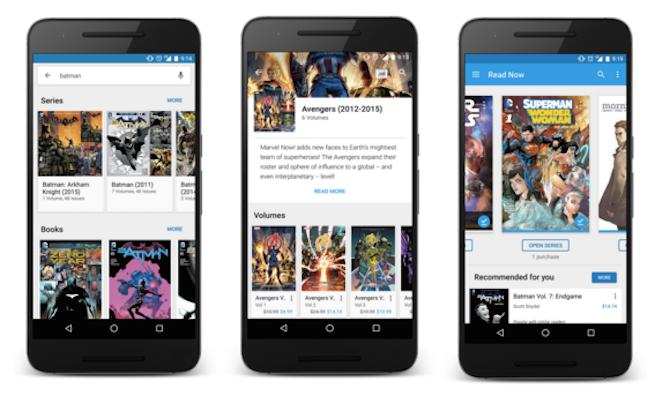 Google Play Comics